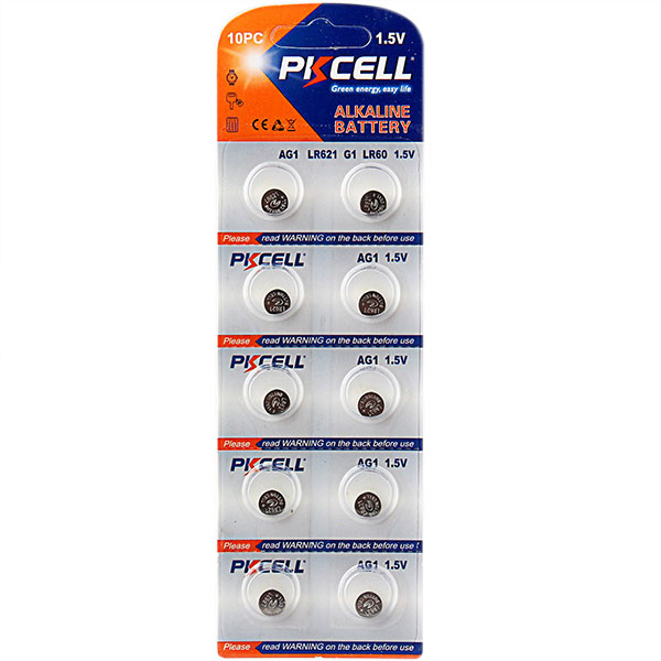Super Alkaline Button Cell AG1